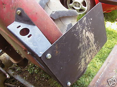 Fox Body Parts >> Ferguson Tractor Number Plate Ploughing Lamp Bracket